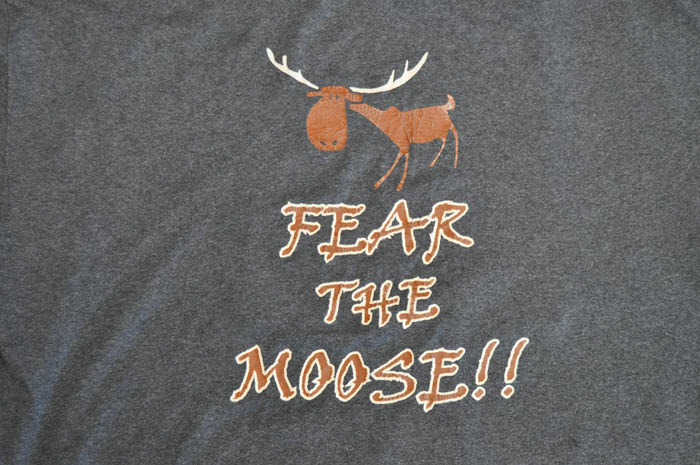 """Fear the Moose!"" T-Shirt"