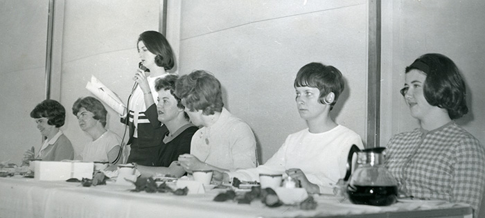 Associated Women Students Officers, 1963-1964.