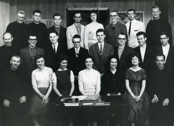 Honors Student Group, 1958 - 1959