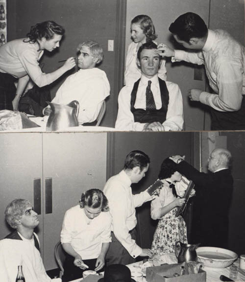 "Stage Makeup for ""Cappy Ricks""-- between 1937 and 1940"