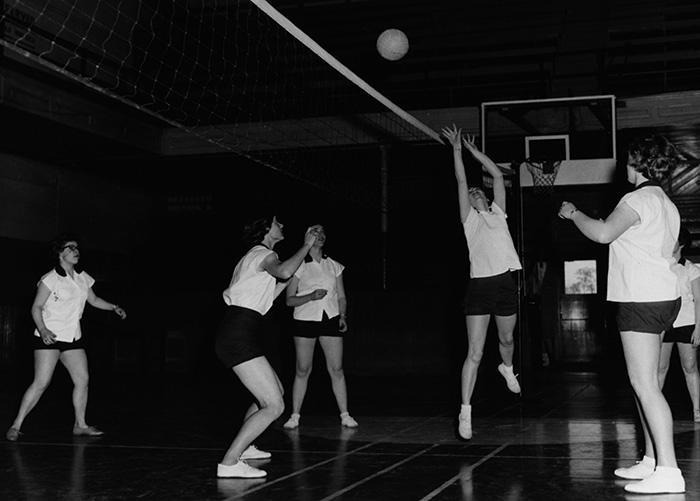Volleyball, about 1960's.