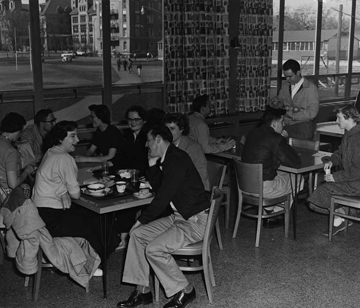 COG Dining Hall, about 1955.