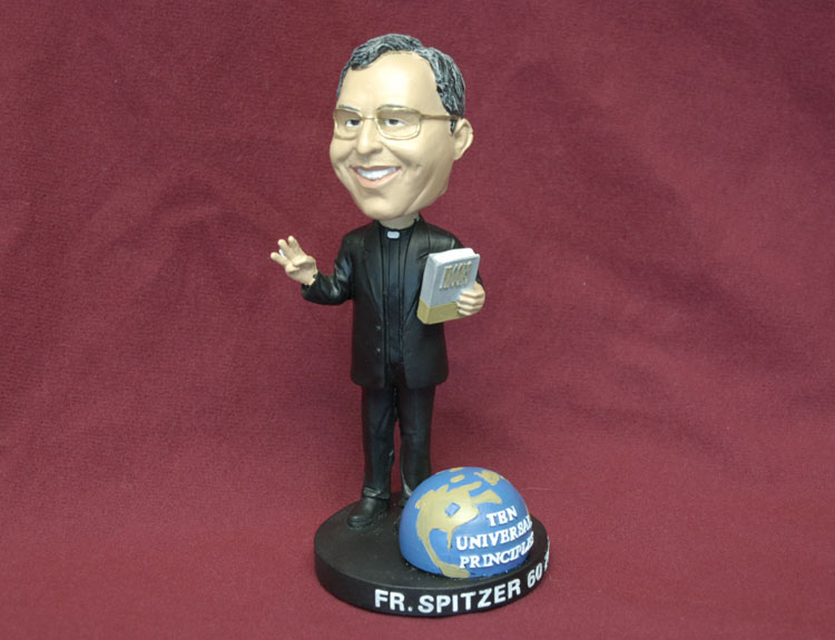 Fr. Robert Spitzer's 60th Birthday Bobble Head, 2012