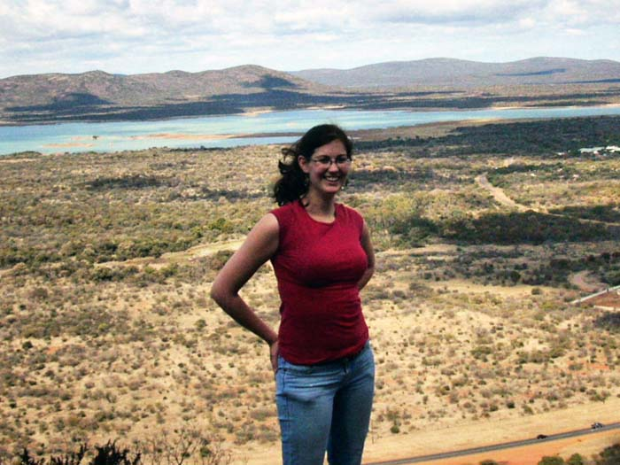 Sarah Dupont, BS Honors Biology, BA Honors International Relations, in Botswana, 2010