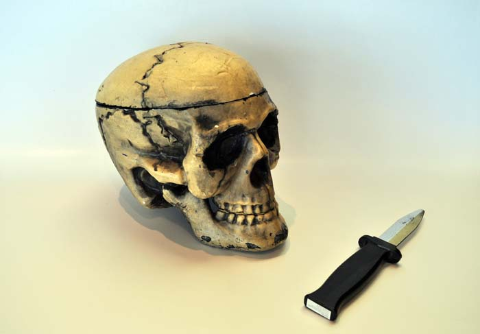 Skull and Knife