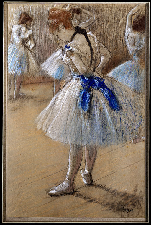 Degas Study of a Dancer