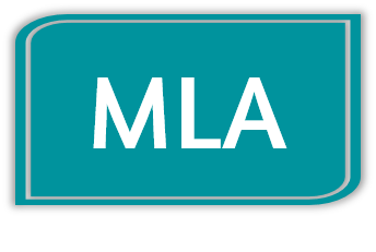 Button linking to MLA Citation Guide