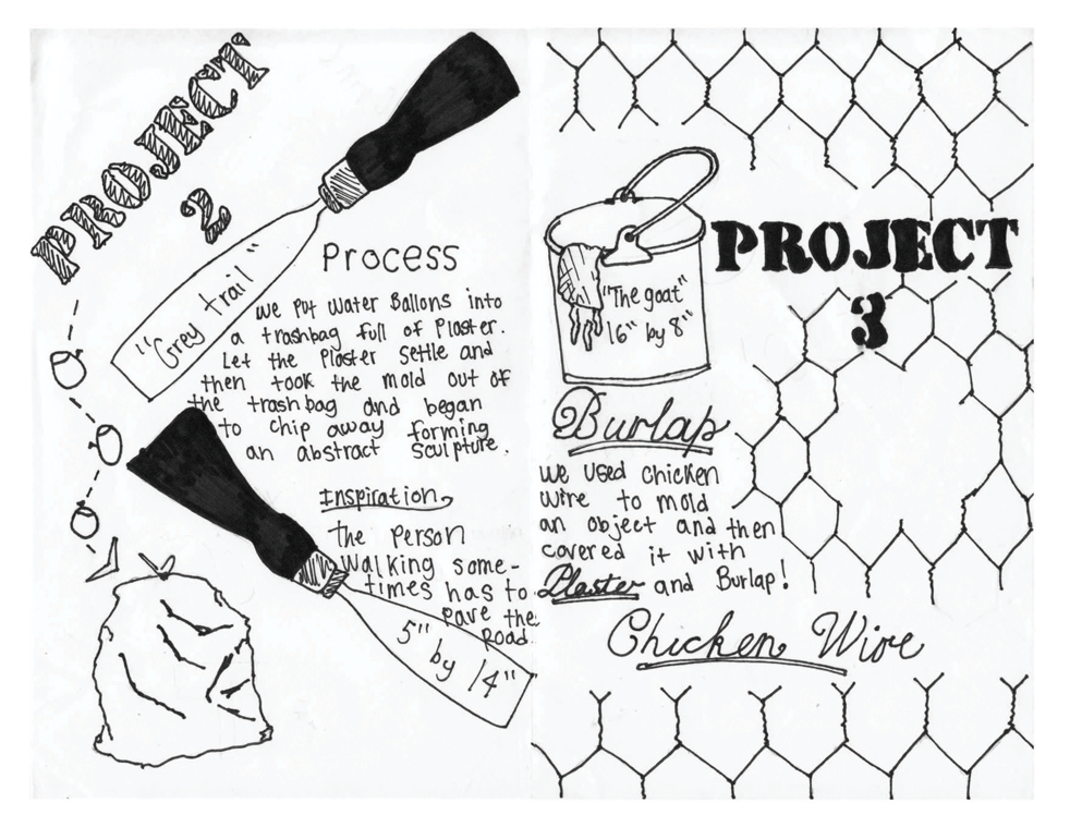 Cofc Student Zine Projects