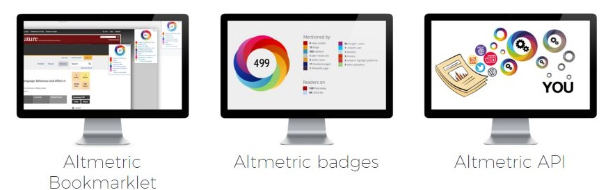 image of Altmetric.com's free services for researchers
