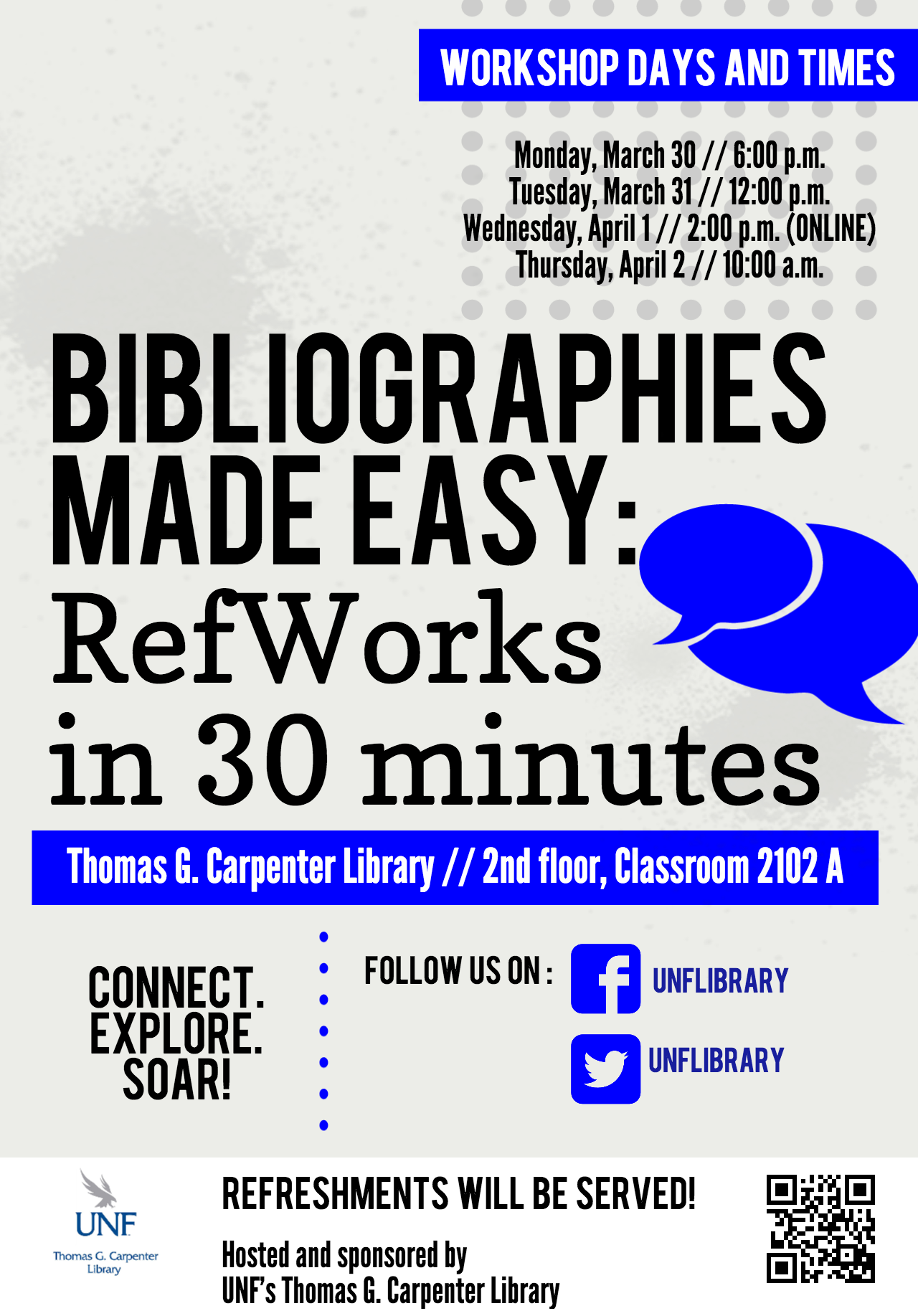 Bibliographies made easy workshop poster