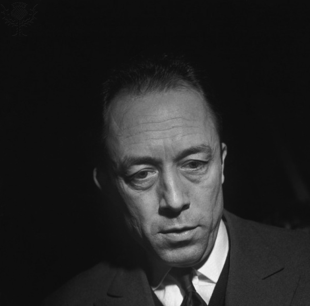 Albert Camus (1913-1960), French novelist, essayist, and playwright  - Britannica ImageQuest