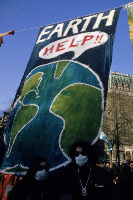 The first Earth Day in New York City, 1970 - Britannica ImageQuest