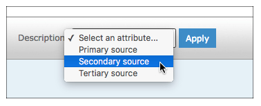 Identifying primary, secondary, and tertiary sources