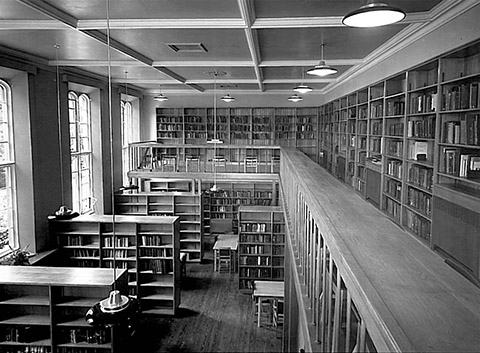 The Library in the 1960s