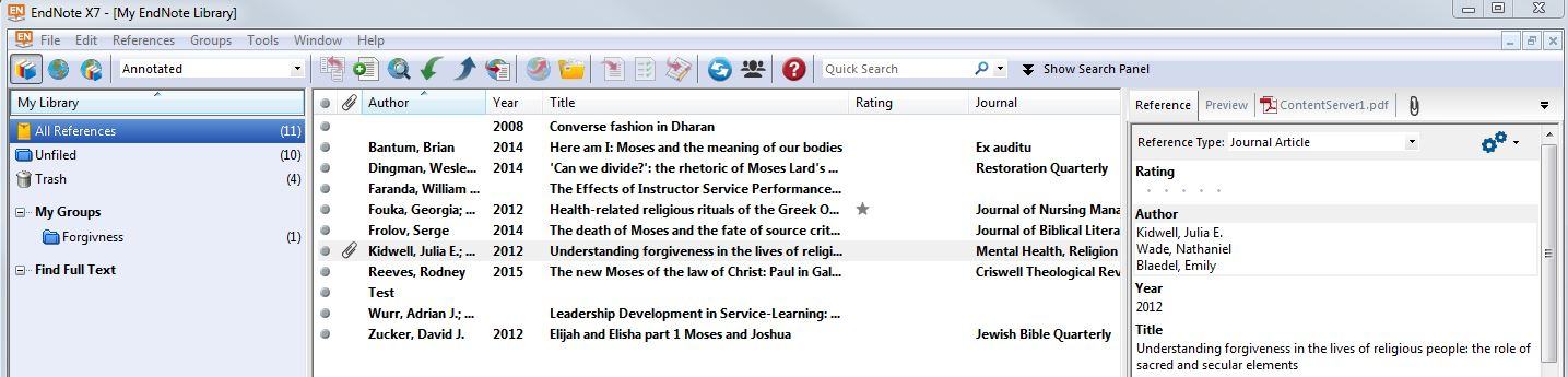 Google Docs Endnote Library Research Guides At Lipscomb