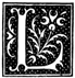 Public Domain image of capital letter L from Wikimedia Commons - https://commons.wikimedia.org/wiki/File:Initial_L_in_The_folk-tales_of_the_Magyars.png