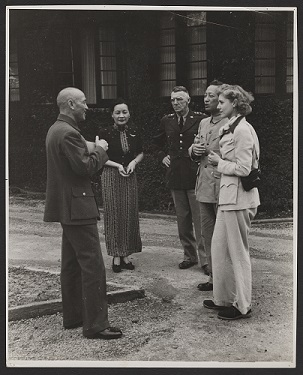 Clare Boothe Luce with Chiang Kai Shek