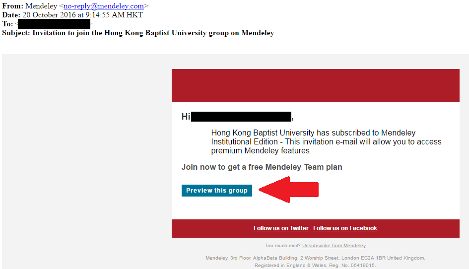 Mendeley - Research Preparation for BSc in Math Final Year Project