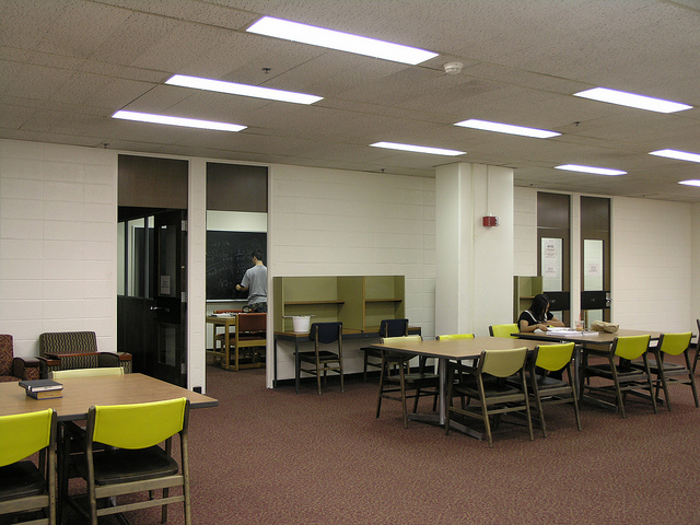 Go online to reserve a study space for your group.