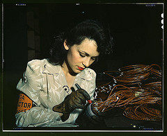 Female Aircraft Worker