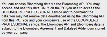 Excel add-in/API - Bloomberg - LibGuides at Copenhagen Business School