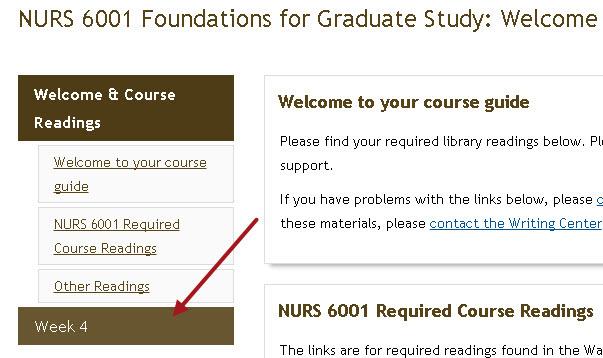 nurs 6001 22 foundations for graduate study