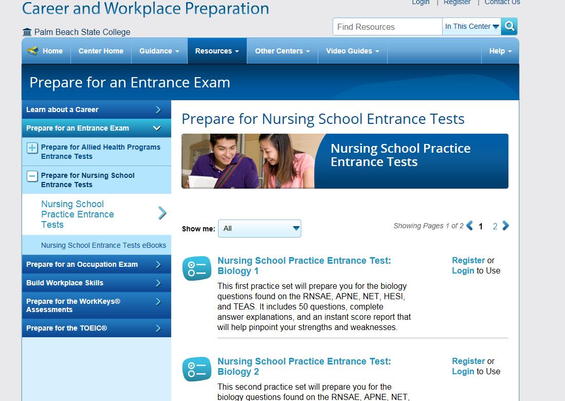 Online Practice - HESI Pre-Admission Test (Lake Worth Campus ...