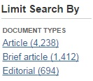 Opposing Viewpoints sample editorial search