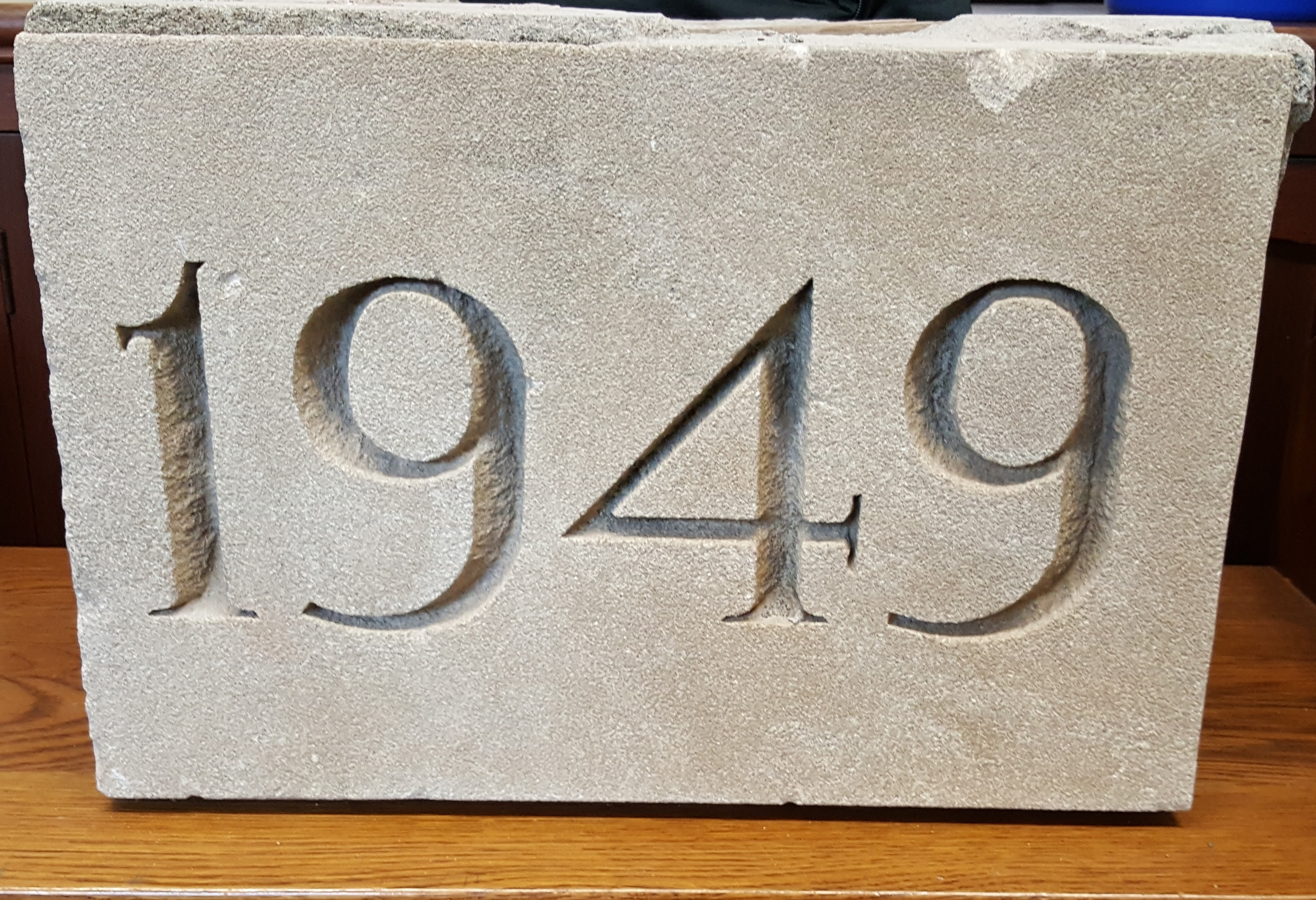 Ryder Hall Cornerstone - 1949