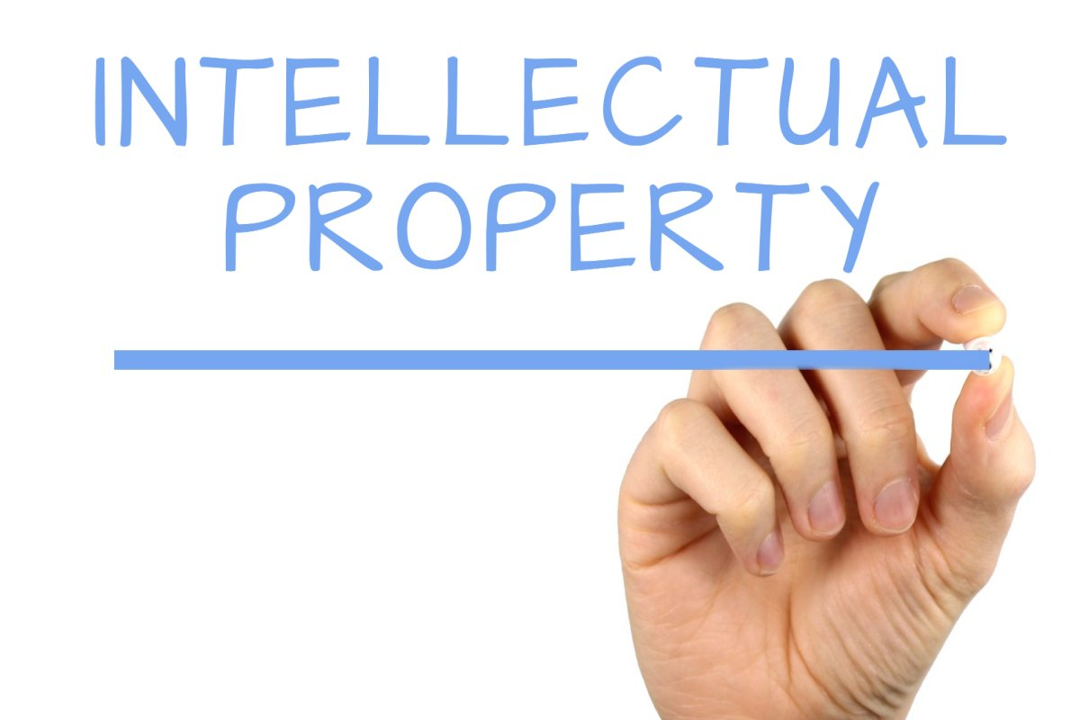 Image of the phrase intellectual property