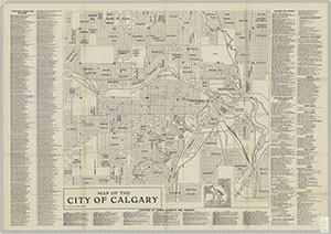 Calgary Area Digital Historical Maps Library At University