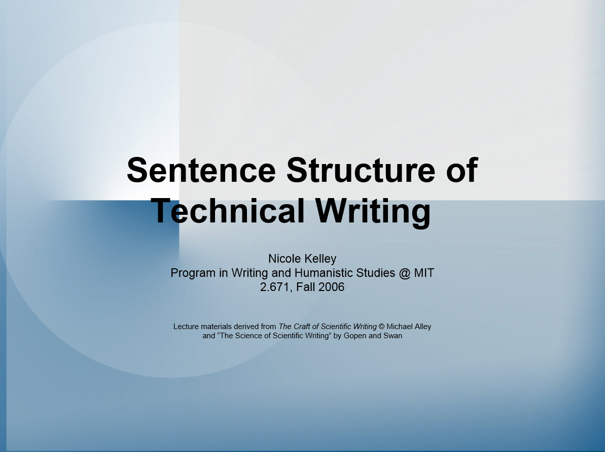 what is technical writing skills Technical writing is a type of writing where the author is writing about a particular subject that requires direction, instruction, or explanation.