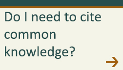 Do I need to cite common knowledge?