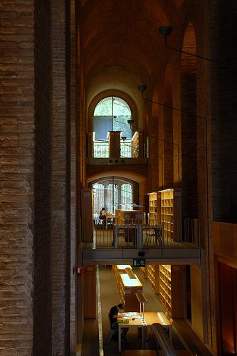 Biblioteca de la UPF. Edifici de les Aigües