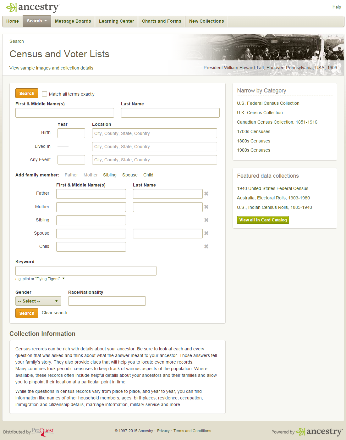 Census Records - Ancestry Library Edition - LibGuides at