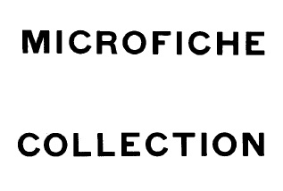 Cover of 'Microfiche collection'