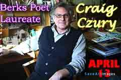 Craig Czury at his writing desk