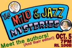 Cover image of Milo and Jazz books
