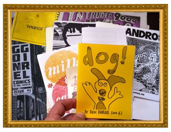 A variety of independent zines