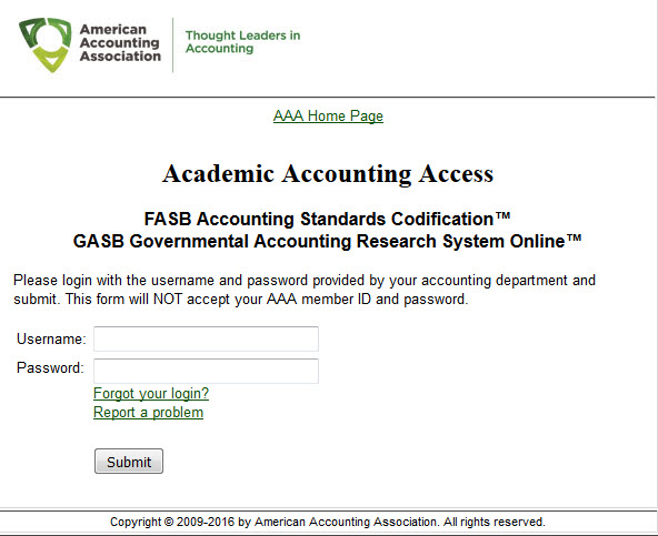 fasb codification research system