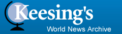 Keesing's World News Archive logo