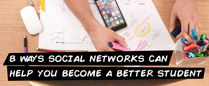 8 ways social networks can help you become a better students