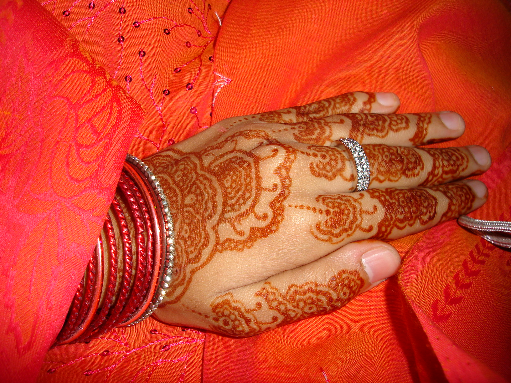 Image of Hand Decoration for WEdding