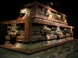 Image of a reproduction of Teotihuacan