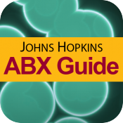 logo for Johns Hopkins ABX Guide