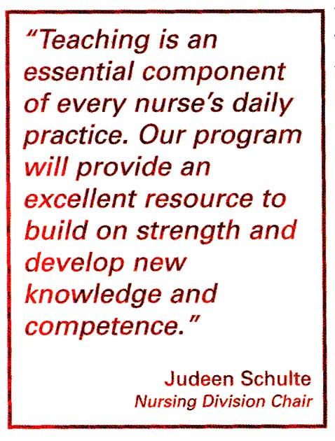 MSN Program Quote by Sister Judeen Schulte from Winter/Spring 2005 Alverno Magazine