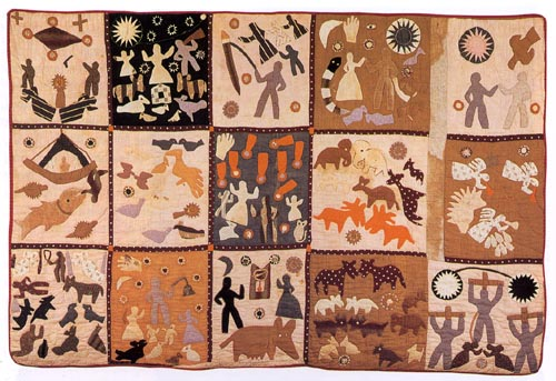 Bible Quilt, by Harriet Powers, 1898