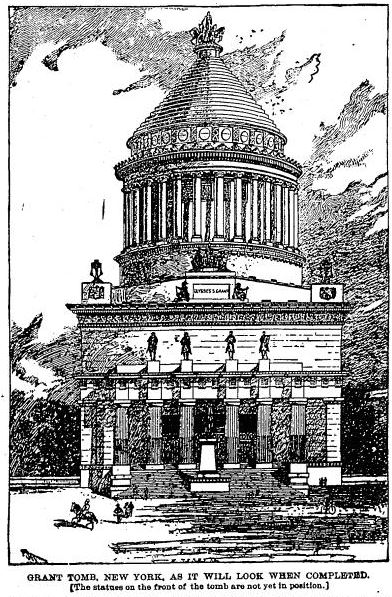 Original Plan for US Grant Tomb