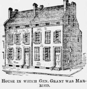 House in St. Louis in Which US Grant was married