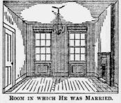 Interior of house in St. Louis where US Grant was married